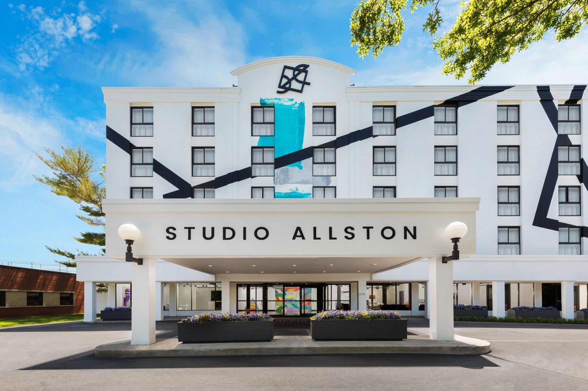 Studio Allston Boutique Hotel Exterior Mural Design