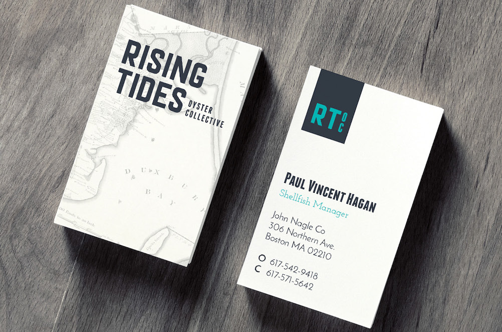 Rising Tides Oyster Collective Branding