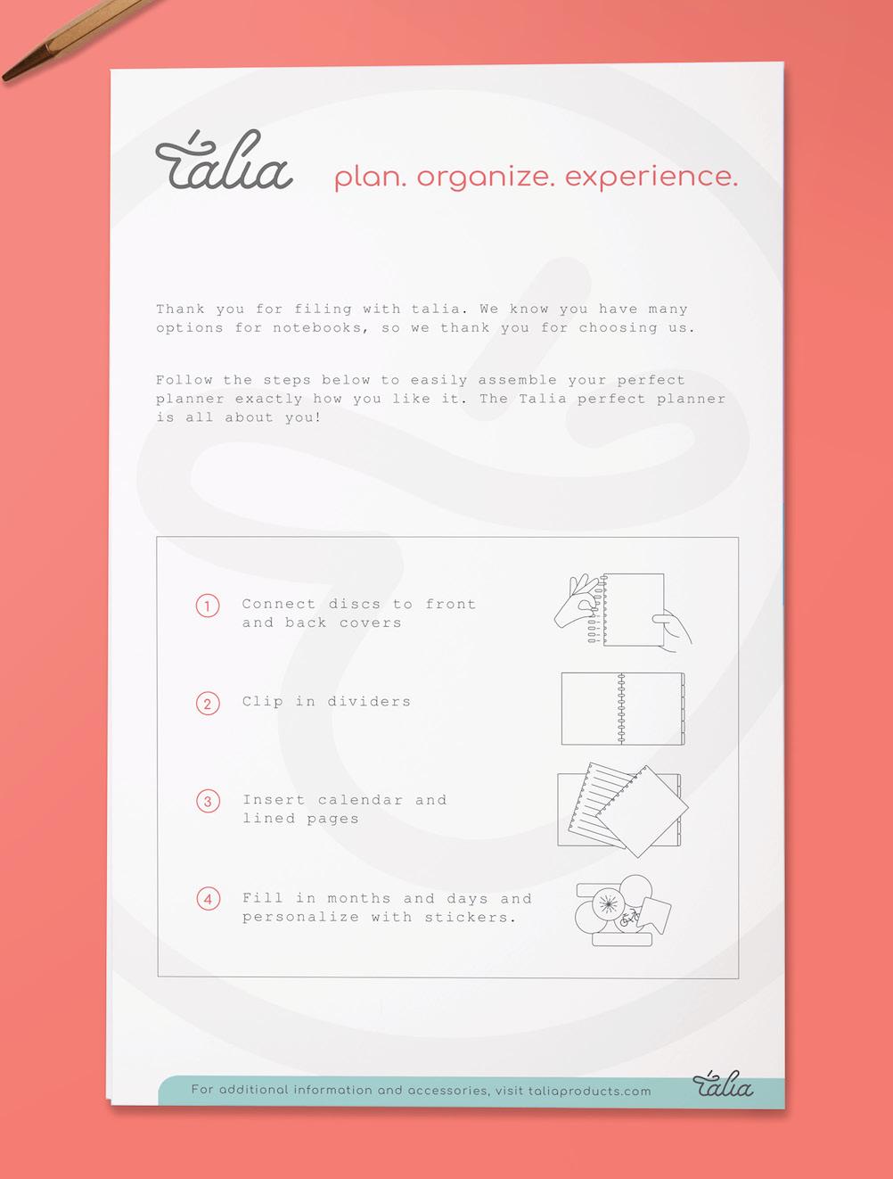 Talia Branding