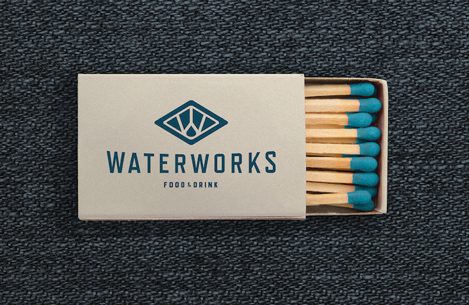 Waterworks Food & Drink Branding