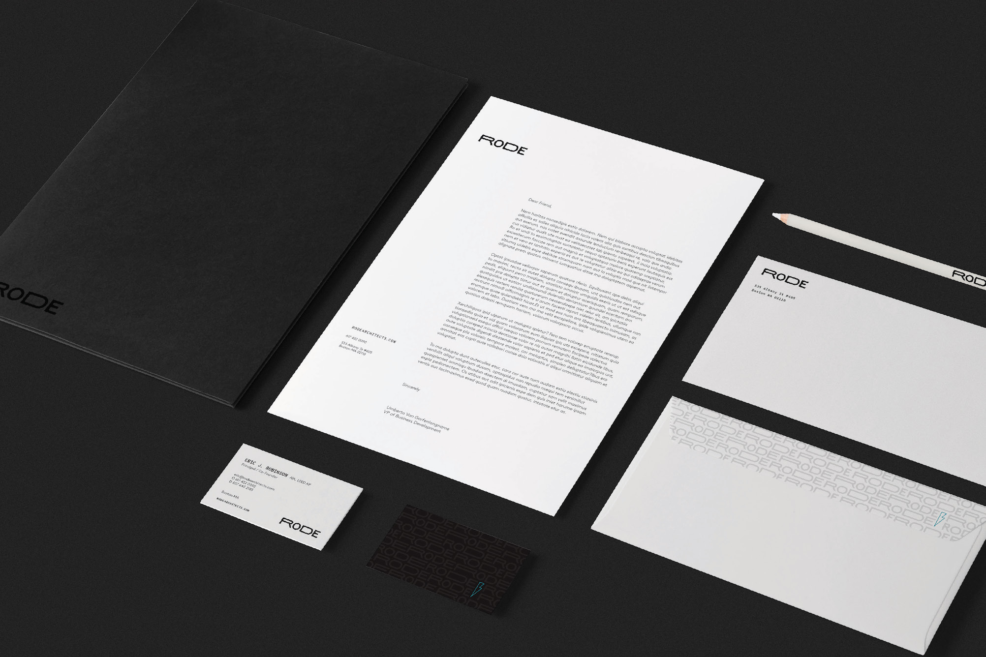 RODE Architects Branding