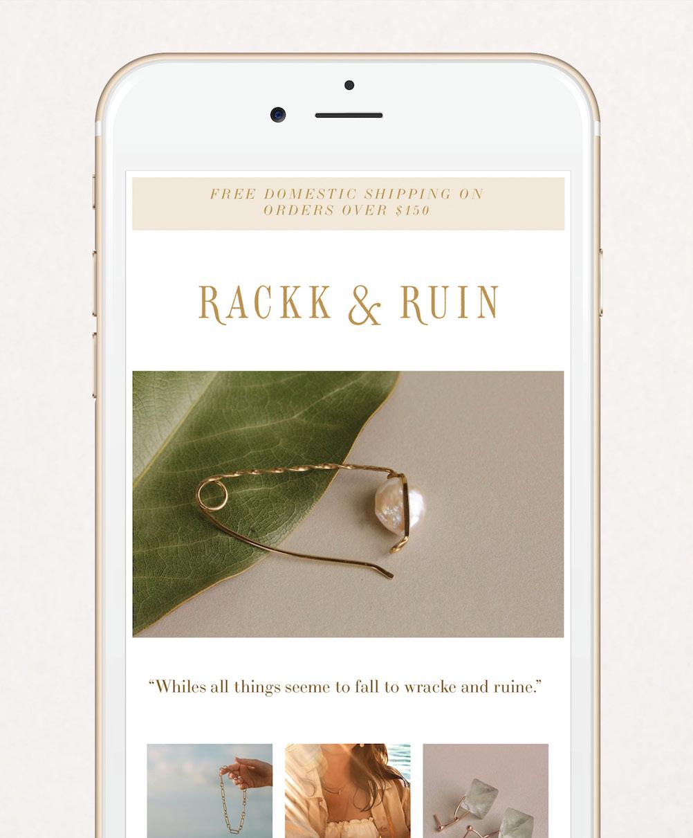 Rackk & Ruin Branding